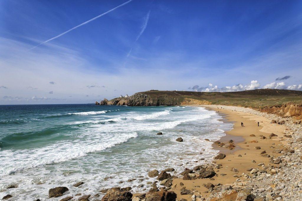 plage de sable en Bretagne